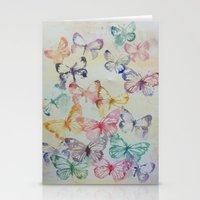 Butterflies II Stationery Cards