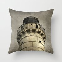 To Warn a Weary Sailor Throw Pillow