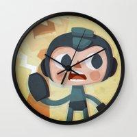 Megaman Wall Clock