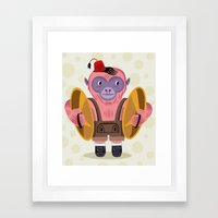 The Monkey Boy Framed Art Print