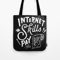 Pay The Bills Tote Bag