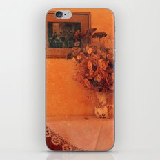 Still life with dry flowers iPhone & iPod Skin