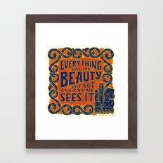 Confucius Framed Art Print