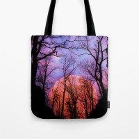 Moonrise Canyon Tote Bag