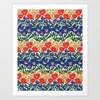 Wild Garden IV Art Print