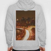 New York City Night Skyline. Hoody