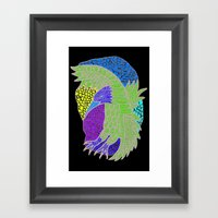 Flying Bird Framed Art Print