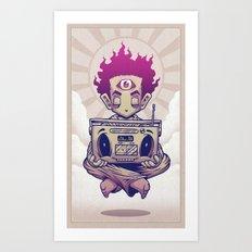 Eye Opener Art Print
