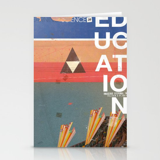 Education - prepare for your mind to be blown Stationery Card