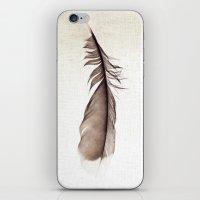 Feather Photograph: Ephemeral iPhone & iPod Skin