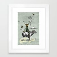 Cavalry Framed Art Print