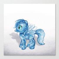 Crystal Dash Canvas Print