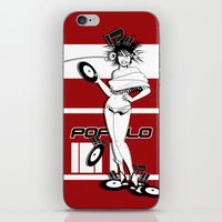 It's The Logo - Full Blood Edition iPhone & iPod Skin
