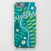 iPhone & iPod Case featuring Tangled Vines by Emma Randall