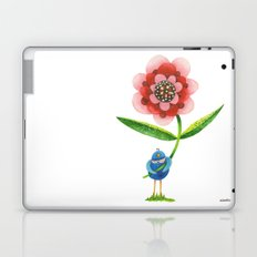 Red Wonder Flower Laptop & iPad Skin