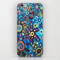 Starflowers iPhone & iPod Skin