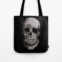 Keep smiling when your dead Tote Bag