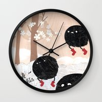 Mr. Furry Pants Wall Clock