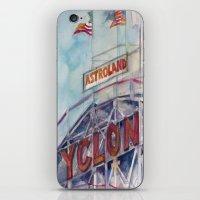 Cyclone Watercolor iPhone & iPod Skin
