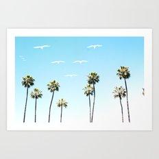 A California Summer  Art Print