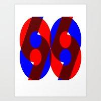 69 Art Print