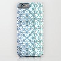Metamorph 001   Blue iPhone 6 Slim Case