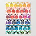 Power Owl Canvas Print