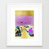 Issue 01 Cover Framed Art Print