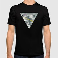 Competitive Strategy Mens Fitted Tee Black SMALL