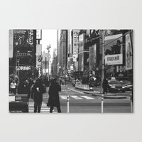 Let my imagination go (B&W) Canvas Print
