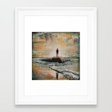 Heaven's Reflection Framed Art Print