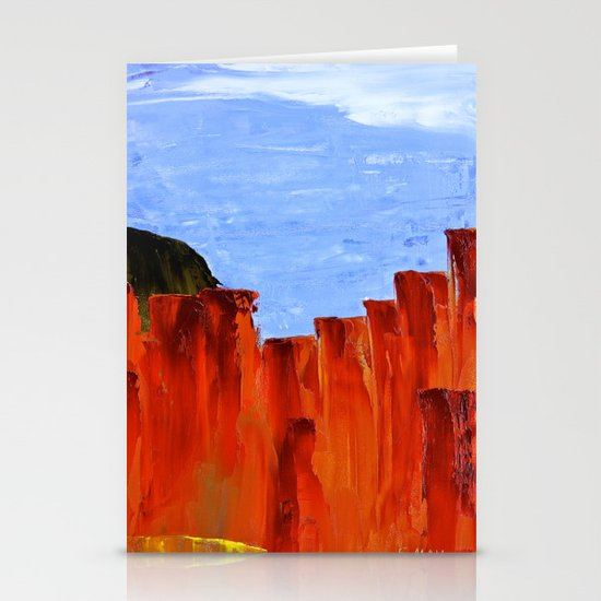 High Desert Canyons Stationery Card
