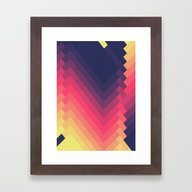 Framed Art Print featuring Disillusion by Tracie Andrews