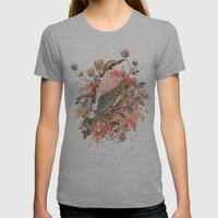 New Graves Womens Fitted Tee Athletic Grey SMALL