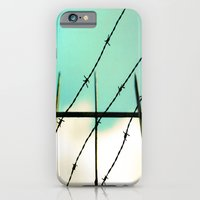iPhone & iPod Case featuring Barbed by Maite Pons