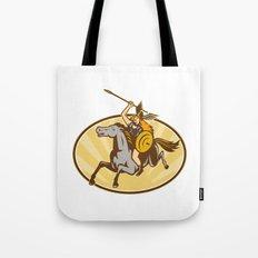 Valkyrie Amazon Warrior Horse Rider Tote Bag