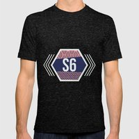 Society6 Tee Mens Fitted Tee Tri-Black SMALL