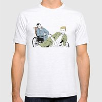 Rear Window Mens Fitted Tee Ash Grey SMALL