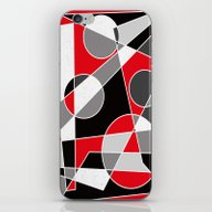 Abstract #101 iPhone & iPod Skin