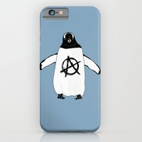 iPhone & iPod Case featuring Anarchy in the Antarctic by Christopher