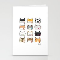 Convo Cats! Stationery Cards