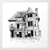 The home in your heart Art Print