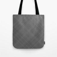 Plaid Hypnosis Tote Bag