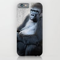 iPhone & iPod Case featuring Gorilla Print by ARTNOIS Magazine