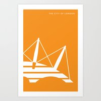 Iconic London: Millenniu… Art Print