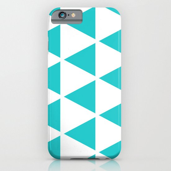 Sleyer Blue on White Pattern iPhone & iPod Case