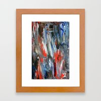 Untitled Abstract #6 Framed Art Print