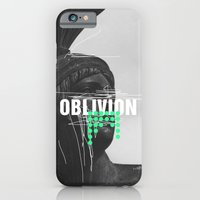 iPhone Cases featuring Oblivion by Frank Moth