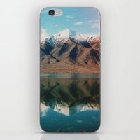 New Zealand Glacier Landscape iPhone & iPod Skin