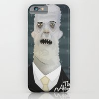 iPhone & iPod Case featuring the Abominable snowman by Crooked Octopus